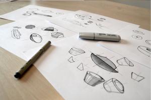 left Bryan Drawings-process