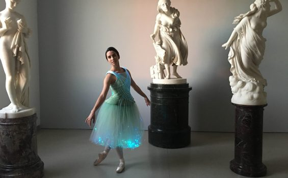 Fiber Optic Tutu at Brooklyn Museum