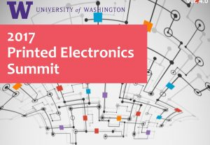 2017 Printed Electronics Summit